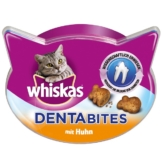 Whiskas Dentabites Huhn - 4x40g Sparangebot