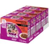 Whiskas Junior Klassische Auswahl in Sauce 48x100g