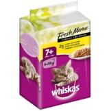 Whiskas Senior 7+ Fresh Menue in Sauce Geflügel 6x50g