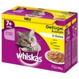 Whiskas Senior 7+ Geflügelauswahl in Gelee - 12x100g