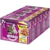 Whiskas Senior 7+ Geflügelauswahl in Gelee 48x100g