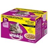 Whiskas Senior 7+ Geflügelauswahl in Sauce 24x100g