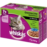Whiskas Senior 7+ Gemischte Selektion in Sauce - 12x100g