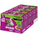 Whiskas Senior 7+ Gemischte Selektion in Sauce 48x100g