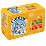 Mixpack Catessy Häppchen in Gelee - 96 x 100 g mit 4 verschiedenen Sorten