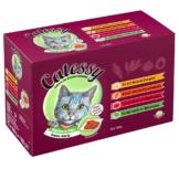 Mixpack Catessy Häppchen in Gelee Gemüse-Allerlei - 96 x 100 g mit 4 verschiedenen Sorten